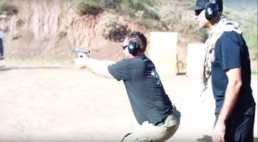 ITA handgun exercise under pressure